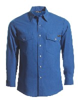 Tops: WR-220NX60 6 oz Nomex IIIA Long Sleeve Western-Style Shirt