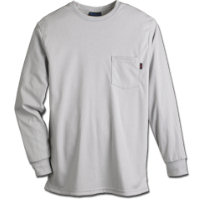 Tops: WR-272UK65 6.5 oz Ultra Soft Knit Long Sleeve T-Shirt with Pocket