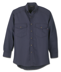 Tops: WR-288UT-55 5.5 oz Ultra Soft Long Sleeve Utility Shirt Chambray