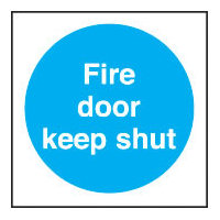 SKU107 fire door keep shut