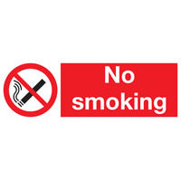 Smoking Regulations : SKU1145