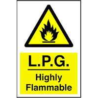 SKU1905 lpg highly flammable