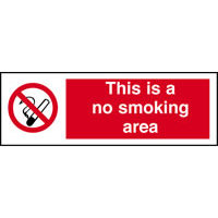 Smoking Regulations : SKU2169