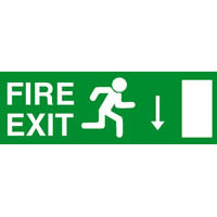 SKU221 fire exit down