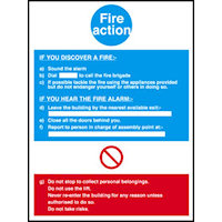 Fire Action Notices : SKU342