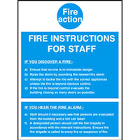 Fire Action Notices : SKU344