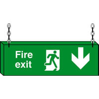 SKU507 fire exit down