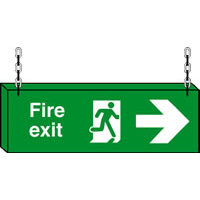 SKU511 fire exit right