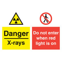 SKU741 danger - x-rays do not enter when red light.