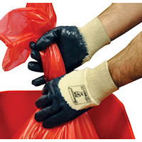 Bodyguards GH112 Cotton Interlock Liner with Heavy Duty Nitrile Palm Coating