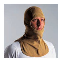 Flash Hoods: Flash hood 9 Flash Hood- manufactured from outer PBI Gold/liner Kermel Viscose, EN 13911
