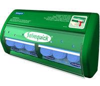490750 Salvequick Dispenser Blue Detectable