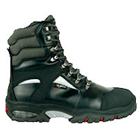 Thermal / Insulated safety footwear: CFR-NEW BERING Footwear for Cold temperature. S3 CI WR SRC
