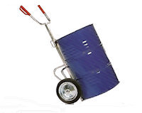 15-1112 Galvanised drum trolley