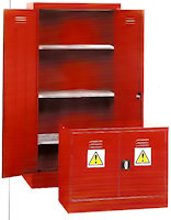 31-1291 Pesticide & Agrochemical Cabinets (Red)