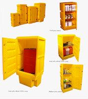 31-1382 Polyethylene Storage Cabinets