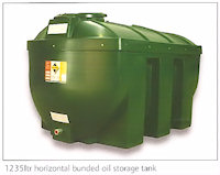 31-1404 1235 ltr horizontal bunded oil storage tank