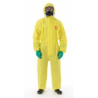Disposable Clothing: MICROCHEM 3000 Coverall Meets Type 3, 4, 5, EN14126, EN1073-2 Class 1, EN1149-5