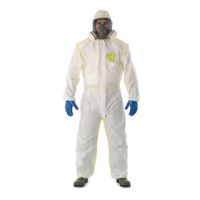 Disposable Clothing: MICROGARD 2300 COMFORT Coverall Offers protection & ventilation to help reduce heat stress.