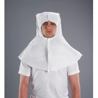 Disposable Clothing: Cape Hood Balaclava style, velcro fastening, anti-static