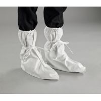 Disposable Clothing: Overboots Model 406, Elasticated opening with tie fastening, Anti-static