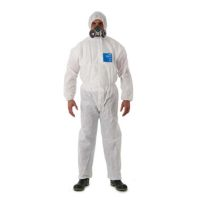 Disposable Clothing: MICROGARD 1500 PLUS Coverall Coverall meets Type 5, 6, EN1073-2 class 1, EN1149-5 Anti-static