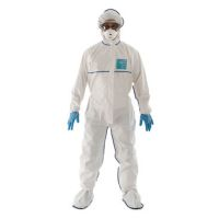 Disposable Clothing: MICROGARD 2000 SOCO Meets type4,5,6, EN14126,EN1073-2 Class 2, EN1149-5, DIN 32781