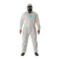 Disposable Clothing: MICROGARD 2000 Standard coverall Meets type 5, 6, EN14126, EN1073-2 Class 2, EN1149-5, DIN 32781