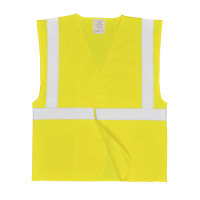 Hi Vis Clothing: PW-C472 1 Band Waistcoat, Fully Certified to EN471 class 2.