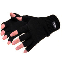 Gloves: PW-GL14 FINGERLESS KNIT INSULATEX GLOVE