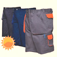 PW-TX14 Texo contrast Shorts