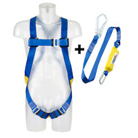 AA1012 Kit Harness and Single lanyard absorber