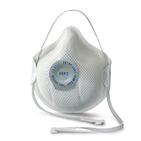 Face masks for Dust / Mist / Fume : Smart series (with valve)