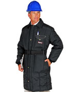 Iron Tuff ( For temperatures to -50F/-45C): RW-0341 Inspector, specially tailored longest coat., For temperatures to -50F/-45C