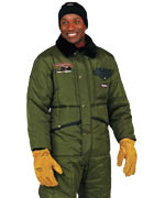 Iron Tuff ( For temperatures to -50F/-45C): RW-0344 Minus 50 Suit (no hood), best full body coverage, For temperatures to -50F/-45C