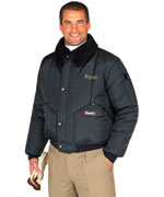 Iron Tuff ( For temperatures to -50F/-45C): RW-0356 Tanker, traditional waist-length style, For temperatures to-50F/-45C