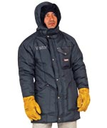 Iron Tuff ( For temperatures to -50F/-45C): RW-0360 Ice Parka, with sewn-on hood and full length coverage , For temperatures to -50F/-45C