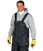 0385 High Bib Overall, High front and back, For temperatures to-50F/-45C