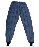 Cooler Wear (For temperatures to 0F/-17C): RW-0526 Cooler Trouser, full elastic waist for comfort,  For temperatures to 0F/-17C