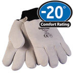 Gloves: RW-0250 Deerskin great dexterity in sub-zero cold.,  For temperatures to -20F/-28C