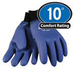 0228 Dipped waterproof Glove Double dipped PVC outer shell, For temperatures to 0F/-17C