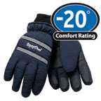 Gloves: RW-0318 Chillbreaker Ski-glove style is lightweight and flexible., For temperatures to -20F/-28C