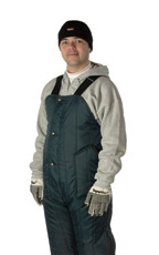 Econo-Tuff (For temperatures to +15F/-9C): RW-0985 Bib, High front and back. For temperatures to 15F/-9C