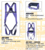 AB1000 + AB0400 First Harness & Belt