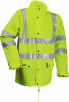 FR-LR234 Microflex FR Hi-Viz winter rain jacket.