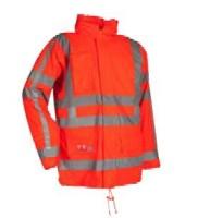 FR-LR32 RWS Microflex FR Hi-Viz winter rain jacket