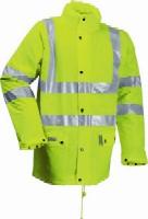 FR-LR3456 Microflex FR Hi-Viz winter rain jacket