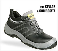 Composite: SJ-Force1 All Purpose safety shoe : S3 EN 20345<br><b>Metal free</b>