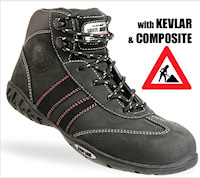 Composite: SJ-ISIS All Purpose safety shoe for Women: S3 EN 20345<br><b>Metal free</b>
