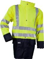 LR3055 Microflex Hi-Viz rain jacket